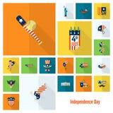 Dzień Niepodległości Stany Zjednoczone Zdjęcie Royalty Free