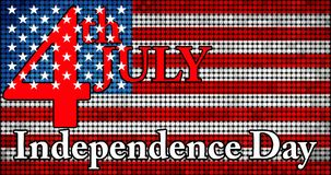 Dzień Niepodległości usa Obrazy Royalty Free