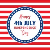 Dzień Niepodległości w usa Obraz Stock