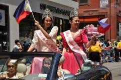 dzień niezależności nyc parada Philippines zdjęcia stock