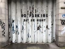 dzień noc żadny parking zdjęcia stock