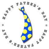 dzień ojca jest krawat Zdjęcie Stock