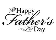 dzień ojca szczęśliwy s typ Obrazy Royalty Free