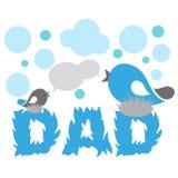 dzień ojciec szczęśliwy s Fotografia Stock