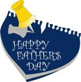 dzień ojciec szczęśliwy s Obrazy Royalty Free