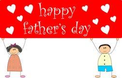dzień ojciec szczęśliwy s Zdjęcie Stock