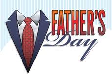 dzień ojcuje loga typ Fotografia Royalty Free