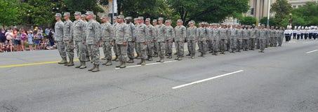 Dzień Pamięci parady narodu Capitol Obraz Stock