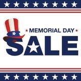 Dzień Pamięci sprzedaż Zdjęcie Stock