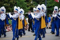 dzień parada pamiątkowa krajowa Zdjęcia Royalty Free