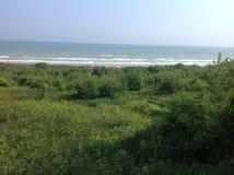 dzień plaża Zdjęcia Royalty Free