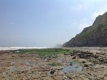 dzień plaża Fotografia Stock
