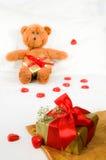 dzień prezenta valentines Zdjęcia Stock