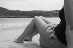 Dzień przy plażą zdjęcie royalty free