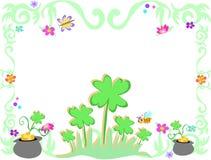 dzień ramowy Patrick s święty royalty ilustracja