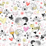 dzień s tekstury valentine Obrazy Royalty Free