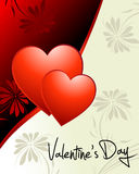 dzień s valentine tapeta Zdjęcie Stock