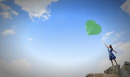 dzień serc ilustracja odizolowywał miłości romansowego s valentine biel Zdjęcia Stock