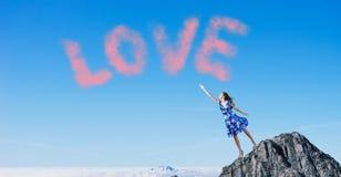 dzień serc ilustracja odizolowywał miłości romansowego s valentine biel Obrazy Royalty Free