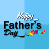 dzień szczęśliwego ojcze Zdjęcie Royalty Free