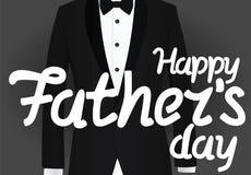 dzień szczęśliwego ojcze Fotografia Stock