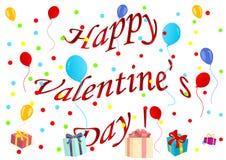 dzień szczęśliwy ilustraci s valentine Zdjęcie Royalty Free