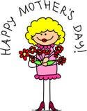 dzień szczęśliwy matek wektor ilustracja wektor