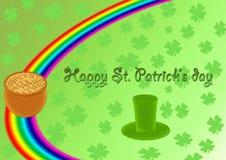 dzień szczęśliwy Patrick s st Obrazy Royalty Free