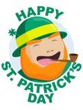 dzień szczęśliwy Patrick s st ilustracja wektor