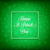dzień szczęśliwy Patrick s st Zdjęcie Stock