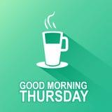 Dzień tygodnia czwartek Zdjęcia Stock