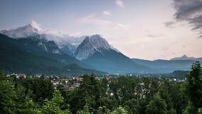 Dzień upływ w Garmisch-Partenkirchen Austria zdjęcie wideo