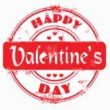 dzień valentine szczęśliwy stemplowy s Zdjęcie Royalty Free