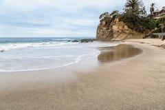 Dzień w laguna beach, Kalifornia zdjęcia royalty free
