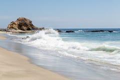 Dzień w laguna beach, Kalifornia zdjęcie stock