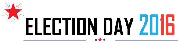Dzień Wyborów ilustracja wektor