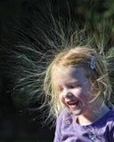 dzień zły włosy Fotografia Stock