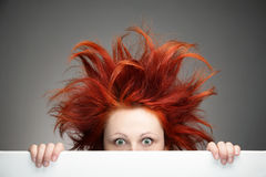 dzień zły włosy Obraz Royalty Free