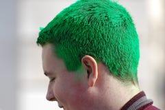 dzień zielony włosiany nowy parady Patrick s st York obrazy royalty free
