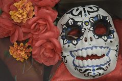 dzień zmarłych maska Obrazy Royalty Free