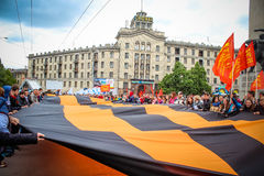 Dzień zwycięstwo w Moldova Fotografia Stock