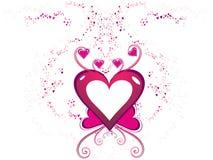 dzień abstrakcjonistyczny valentine s Zdjęcia Royalty Free