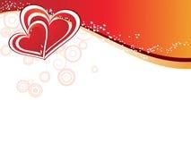 dzień abstrakcjonistyczny valentine s Zdjęcie Stock
