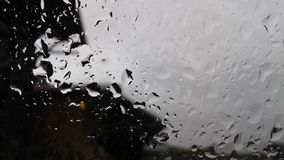 dzień deszcz Obraz Stock