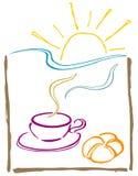 dzień dobry café Obrazy Stock