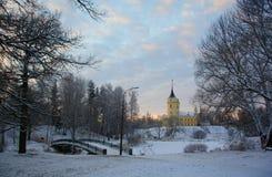 dzień dobry zimy zimna Zdjęcie Royalty Free