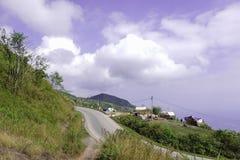 dzień droga krajobrazowa halna Zdjęcia Stock