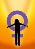dzień dumy s kobiety Zdjęcia Stock