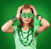 dzień dziewczyny Patrick s st Fotografia Royalty Free