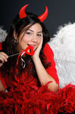 dzień dziewczyny s valentine Zdjęcie Royalty Free